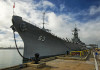 The USS Missouri at Pearl Harbor