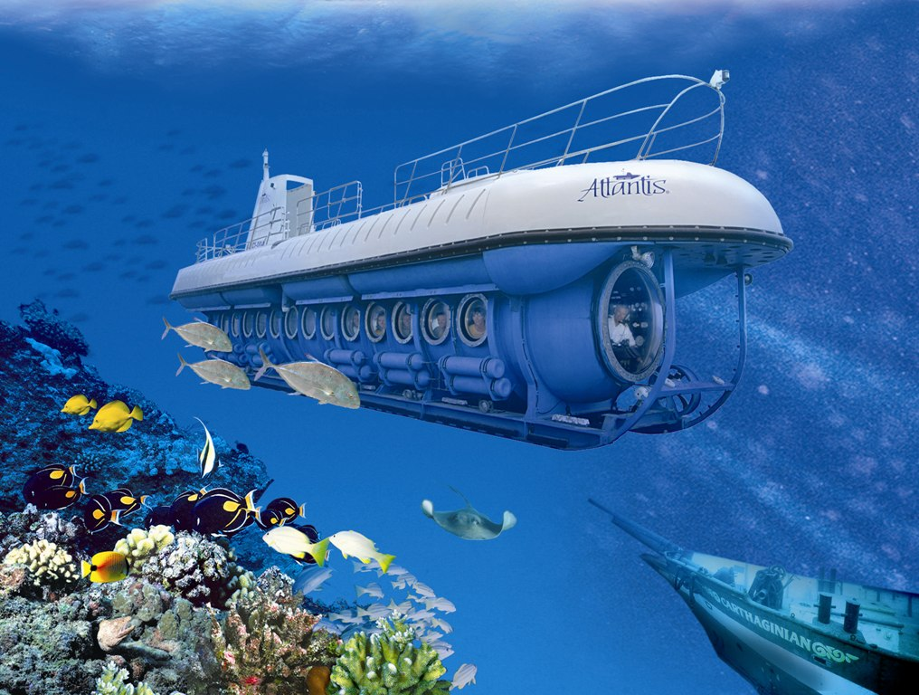 Be Part Of The Hawaiian Underwater Adventure With The Atlantis