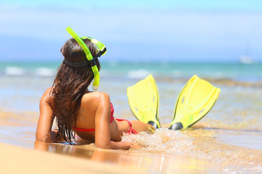 Maui Snorkeler