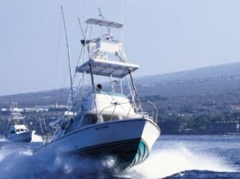 Maui sportfishing vessel hawaii